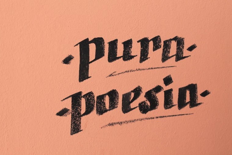 pure poetry pura poesia