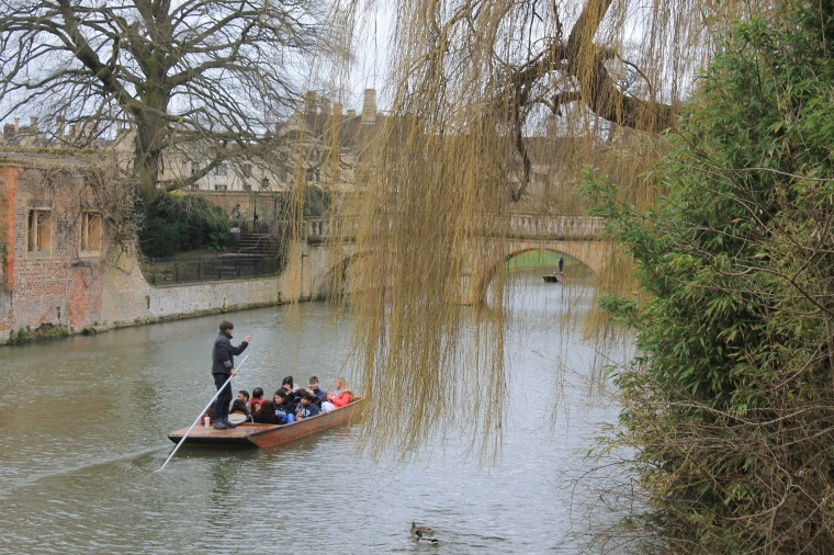 Cambridge University canal