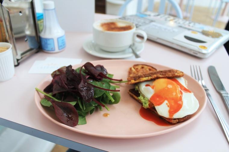 Cafe Miami London waffle