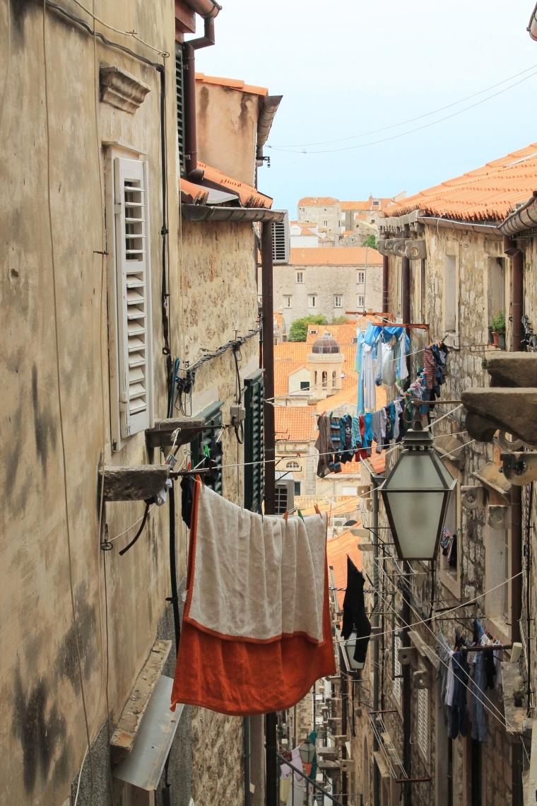 Dubrovnik Croatia streets