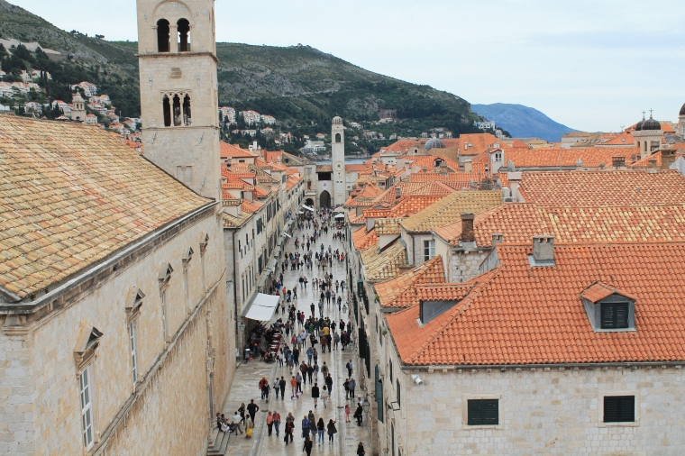 Dubrovnik Croatia city center