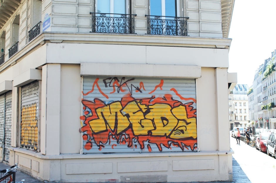 10th district of paris graffiti
