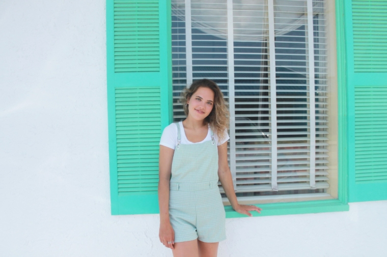 pastel sumer overall