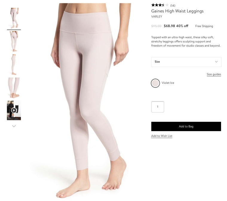 Varley leggings